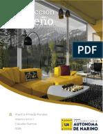 Trabajo Diseño de Interior - Martha Pineda