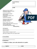 Portugues Genero e Grau