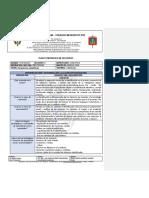 Plan Estrategico Dimension Cognitiva Primer Periodo 2019