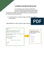 Informe de Codigos y Diagramas de Flujos