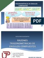 17 Razones Trigonometricos de Angulos Compuestos