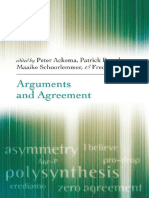 Ackema,Peter&Brandt.2006.Arguments and Agreement