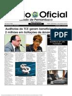 Regulamentação de Auditoria Operacional No TCE PE