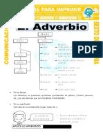 Ficha Tipos de Adverbios Para Sexto de Primaria