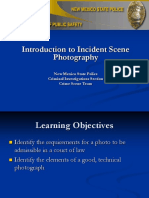 Intro to Incident Scene and Technical Photography Revised 12-01-09 (1)