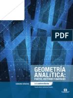 Geometria  Analitica Moderna