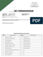 Projet Pédagogique Méca 1èreF4BA