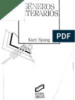 Géneros Literarios Kurt Spang