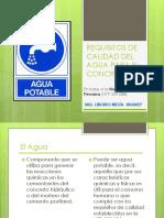 Sesion 10. Requisitos de Calidad Del Agua Para El Concreto