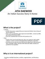 Tata Daewoo - Success Story