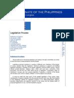 Legislative Process Senate
