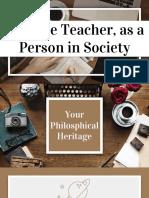 Philosophies of Teaching