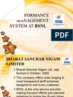 31375025 Performance Management System at BSNL