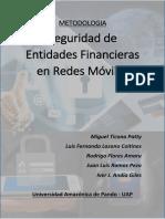 Segudidadad de Entidades Financieras Mediante Redes Mobiles