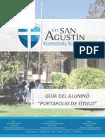 Guía del Alumno Portafolio de Título Nicolas Inostroza Torres