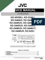 JVC Car Stereo Manual