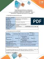 Guía de Actividades y Rúbrica de Evaluación - Fase 3 - Determinar Viabilidad Del Proyecto Sostenible