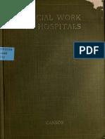 Social Work in Hospitals Ida Cannon