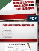 Konfigurasi Elektron Model Bohr Dan