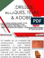 Ladrillos, Bloques, Adobes & Tejas Bbbb