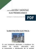 UNIDAD1 SUBESTACIONES ELÉCTRICAS
