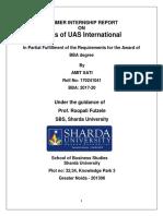 UAS Internation