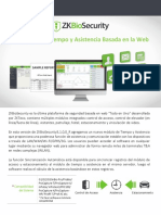 Brochure_ZKBioSecurity Solución Para Tiempo y Asistencia_SPA