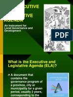 Executive Legislative Agenda