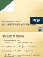 Aplicaciones Del Algebra Lineal
