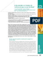 Agricultura de Precisão controle de pragas soja