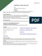 statistics lesson plan residual plots final