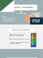 FILOGENIA_Y_TAXONOMIA.pptx