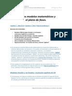 Algunos Modelos Matematicos y El Plano de Fase