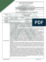 Informe Programa Complementario. Induccion Sga