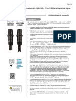 Signet 2724-2734 PH-OrP Electrodes (Spanish)