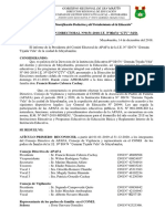 Resolución APAFA 2019-2020