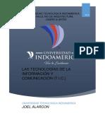 LAS TECNOLOGÍAS DE LA INFORMACIÓN Y COMUNICACIÓN (T.I.C.)