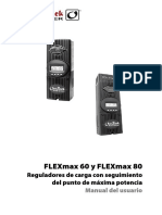 Regulador OUTBACK MPPT FM60 FM80 Manual Usuario