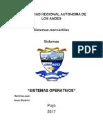 SISTEMAS OPERATIVOS HILOS