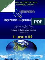 Importancia Bioquímica Del Agua_CONF.