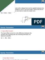 Parameters of Opamp