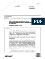 Gaps in international environmental law and  environment-related instruments