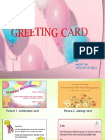 Ppt Greeting Card