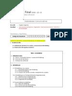 Formato de Planificación y Textualización