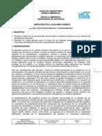 Guía de Laboratorio - Equilibrio Químico - Química Ambiental