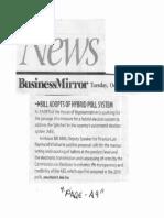 Business Mirror, Oct. 22, 2019, Bill adopts of hybrid poll system.pdf