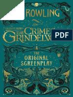 Fantastic Beasts the Crimes of Grindewald Script - J. K. Rowling