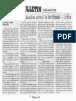 Manila Bulletin, Oct. 22, 2019, Consider HB 4802 dead on arrival in the Senate - Drilon.pdf