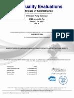 Patterson ISO14001 Cert Conformance.pdf