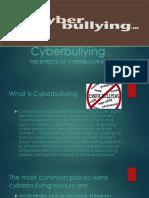 Cyberbullying by Jules